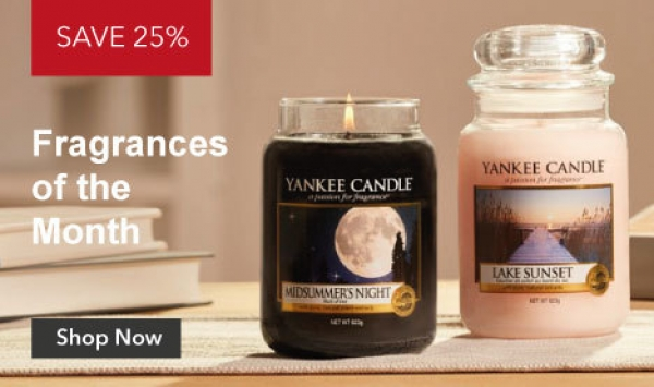 Yankee Candle fragrance of the month August