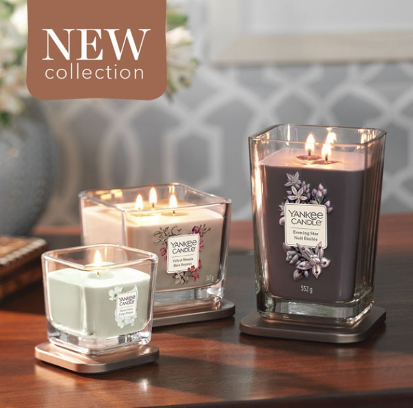 New! Yankee Candle Elevation Collection